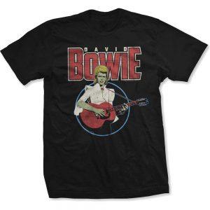 David Bowie Unisex T Shirt Acoustic Bootleg X Large