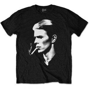 David Bowie Unisex T Shirt Smoke XX Large