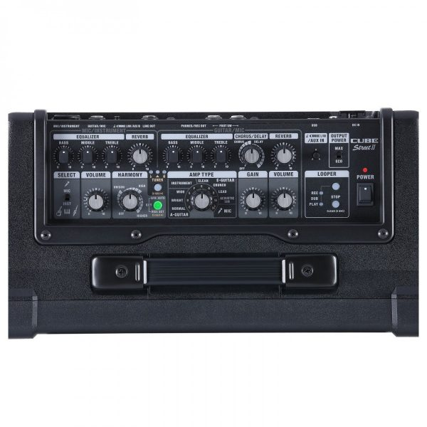 Boss Cube Street 2 Battery Powered Stereo Amplifier Black